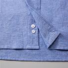 オックスフォードボタンダウンロングスリーブシャツ(1269-01)裾裏