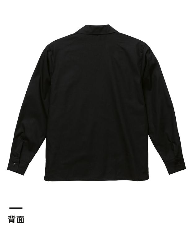 T/Cオープンカラーロングスリーブシャツ(1760-01)背面
