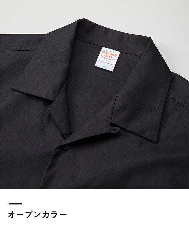 T/Cオープンカラーロングスリーブシャツ(1760-01)オープンカラー