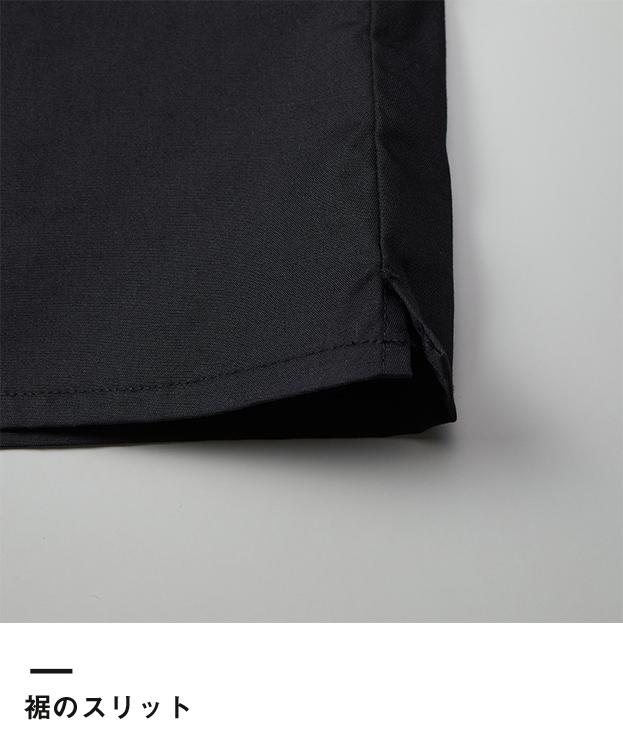 T/Cオープンカラーロングスリーブシャツ(1760-01)裾のスリット