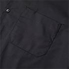 T/Cオープンカラーロングスリーブシャツ(1760-01)胸ポケット