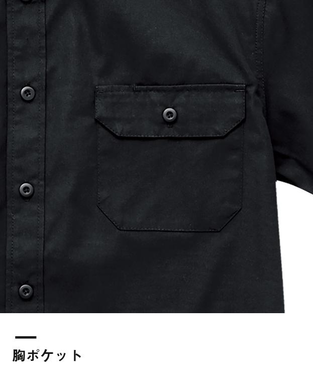 T/Cワークシャツ(1772-01)胸ポケット
