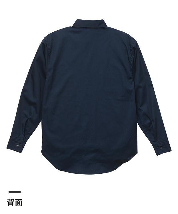 T/Cワークロングスリーブシャツ(1773-01)背面