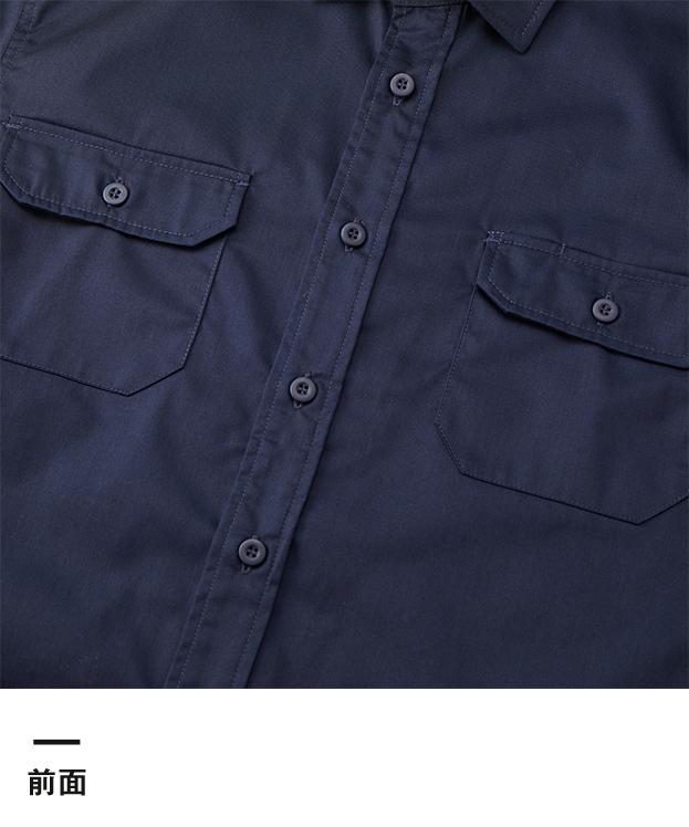T/Cワークロングスリーブシャツ(1773-01)前面