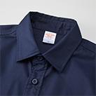T/Cワークロングスリーブシャツ(1773-01)襟