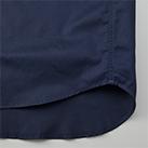 T/Cワークロングスリーブシャツ(1773-01)裾脇