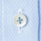 吸汗速乾半袖ブラウス(FB4014L)ボタン
