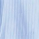 レディスストライプ調温長袖ブラウス(FB4023L)胸ポケット