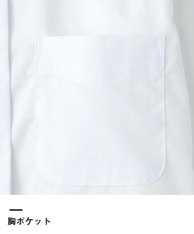 レディスストレッチ長袖ブラウス(FB4032L)胸ポケット