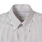 ストライプ長袖シャツ(FB4508U)襟
