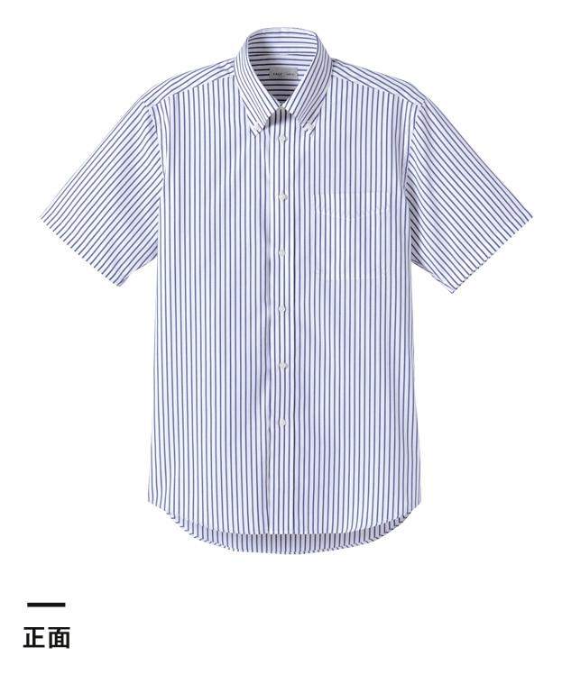 ストライプ半袖シャツ(FB4509U)正面