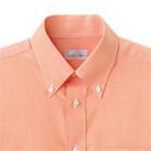 オックスフォード半袖シャツ(FB4511U)襟