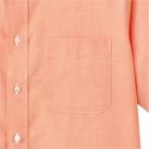 オックスフォード半袖シャツ(FB4511U)胸ポケット