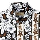 アロハシャツ(モダン花柄)(FB4520U)襟
