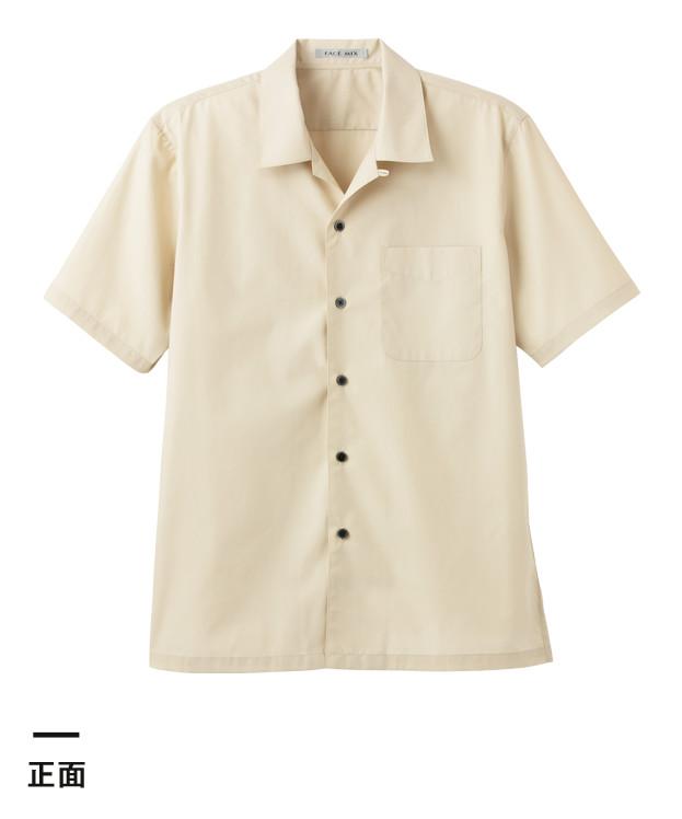 ブロードレギュラーカラー半袖シャツ(FB4527U)正面