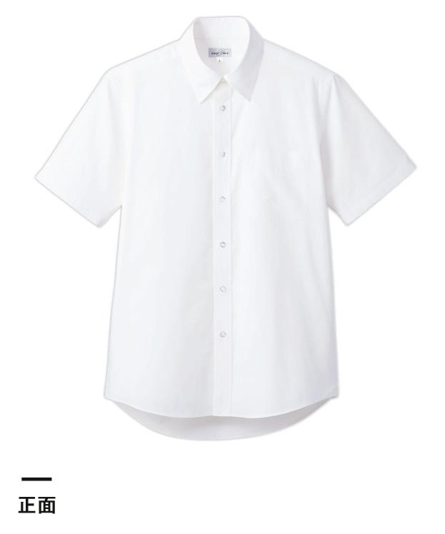 ブロードレギュラーカラー半袖シャツ(FB4535U)正面