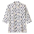 和衿プリントシャツ(招き猫)(FB4537U)正面