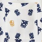 和衿プリントシャツ(招き猫)(FB4537U)胸ポケット