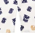 和衿プリントシャツ(招き猫)(FB4537U)サイドスリット