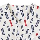 和プリントシャツ(のぼり)(FB4539U)ノーカラー