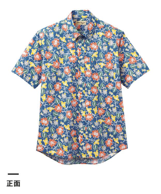 アロハシャツ(花柄)(FB4540U)正面