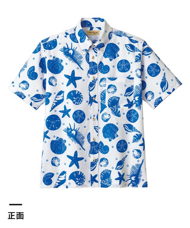 アロハシャツ(貝柄)(FB4541U)正面