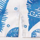 アロハシャツ(貝柄)(FB4541U)サイドスリット