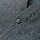 ユニセックス和シャツ(FB4543U)四角い前ボタン