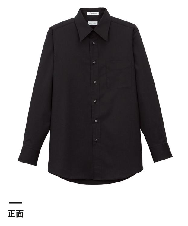 メンズレギュラーカラー長袖シャツ(FB5005M)正面