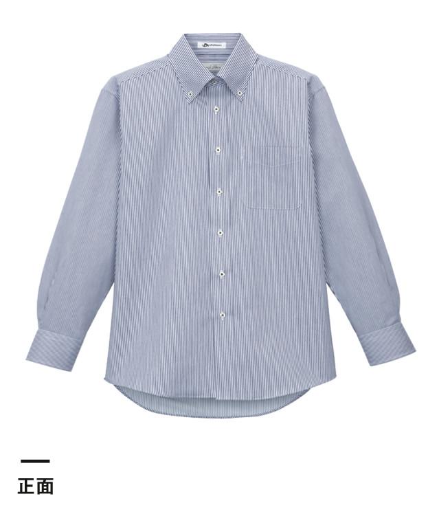 メンズ吸汗速乾長袖シャツ(FB5007M)正面