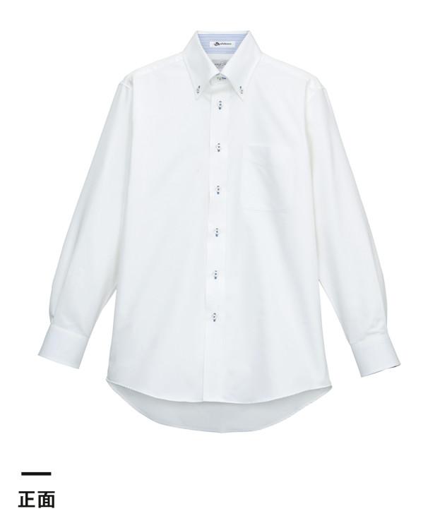 メンズ吸汗速乾長袖シャツ(FB5010M)正面