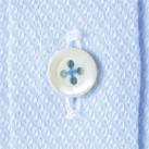 メンズ吸汗速乾長袖シャツ(FB5017M)ボタン