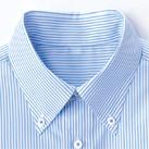 メンズ吸汗速乾長袖シャツ(FB5017M)襟