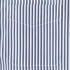 メンズストライプ調温半袖シャツ(FB5031M)胸ポケット