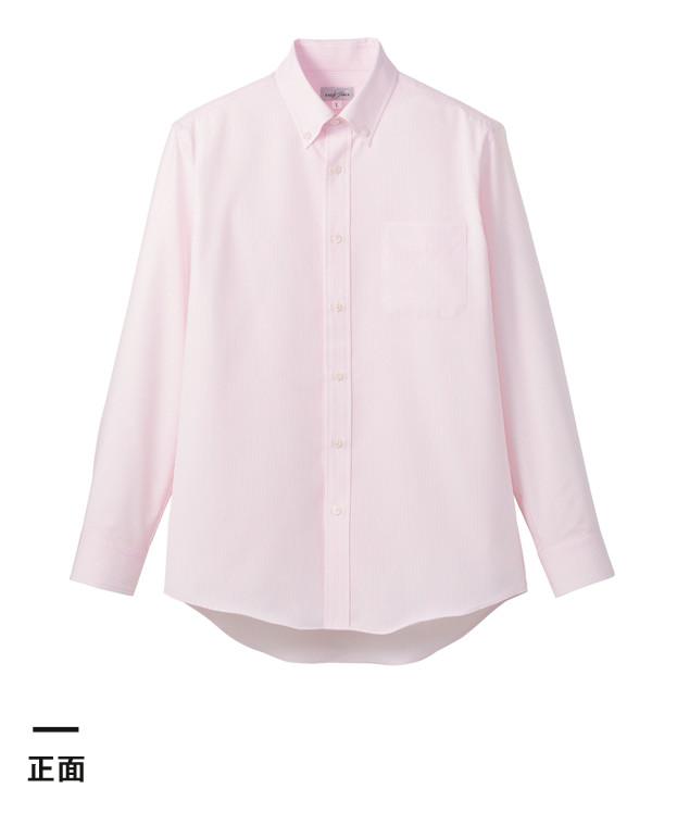 吸水速乾メンズ長袖シャツ(FB5035M)正面