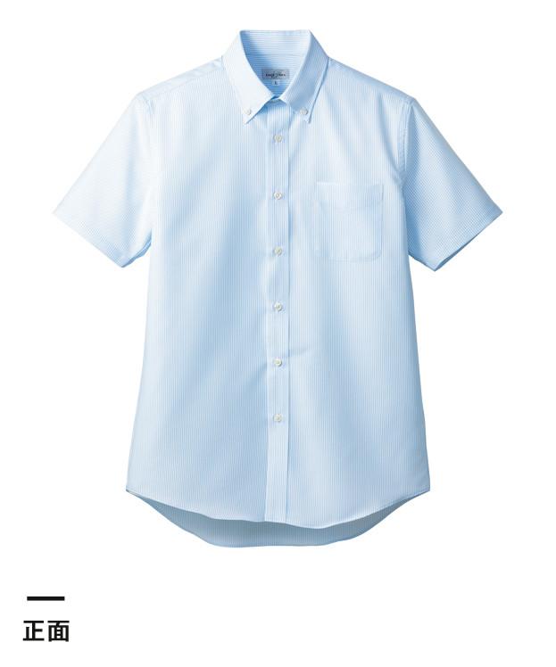 吸水速乾メンズ半袖シャツ(FB5036M)正面