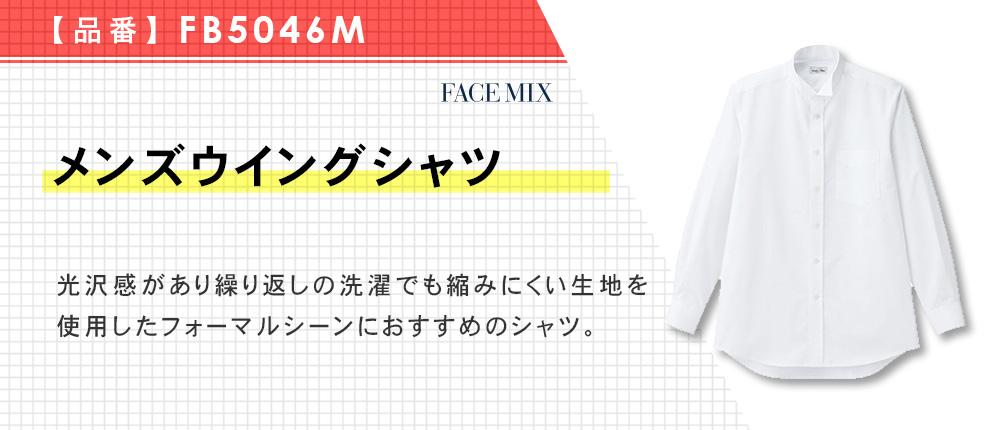 メンズウイングシャツ(FB5046M)2カラー・7サイズ