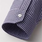 メンズセミワイドカラー七分袖シャツ(FB5048M)袖口