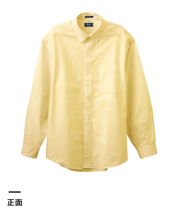 長袖オックスフォードシャツ(GU-2101)正面