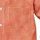 メンズ長袖ギンガムチェックシャツ(SA-3011)胸ポケット