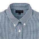 レディース半袖ギンガムチェックシャツ(SA-4010)襟